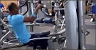 nueva máquina en el gimnasio