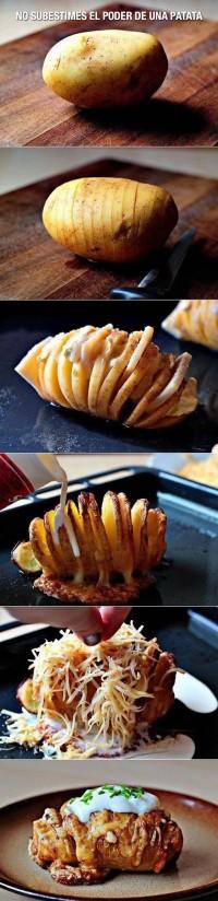 No subestimes el poder de una patata