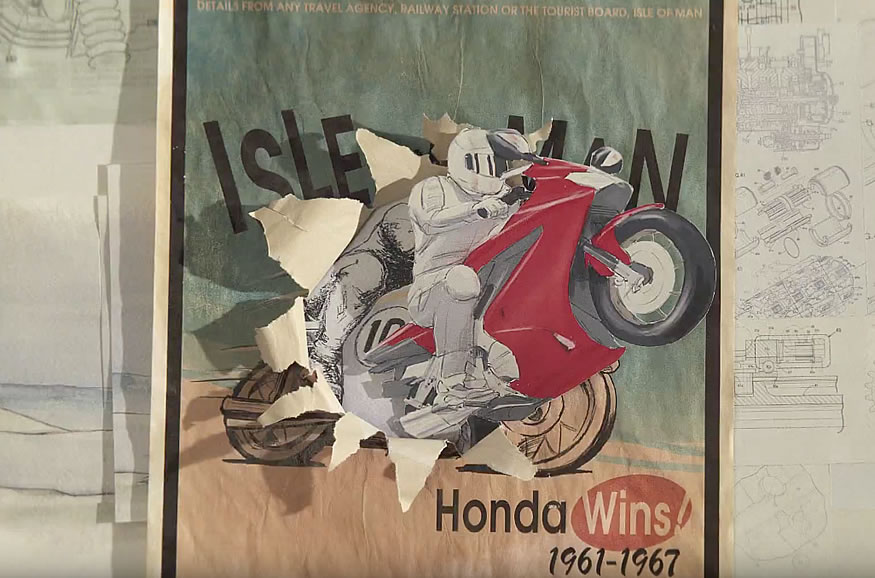 La historia de Honda por PES