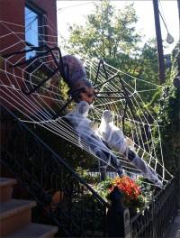 Decorando la casa para Halloween