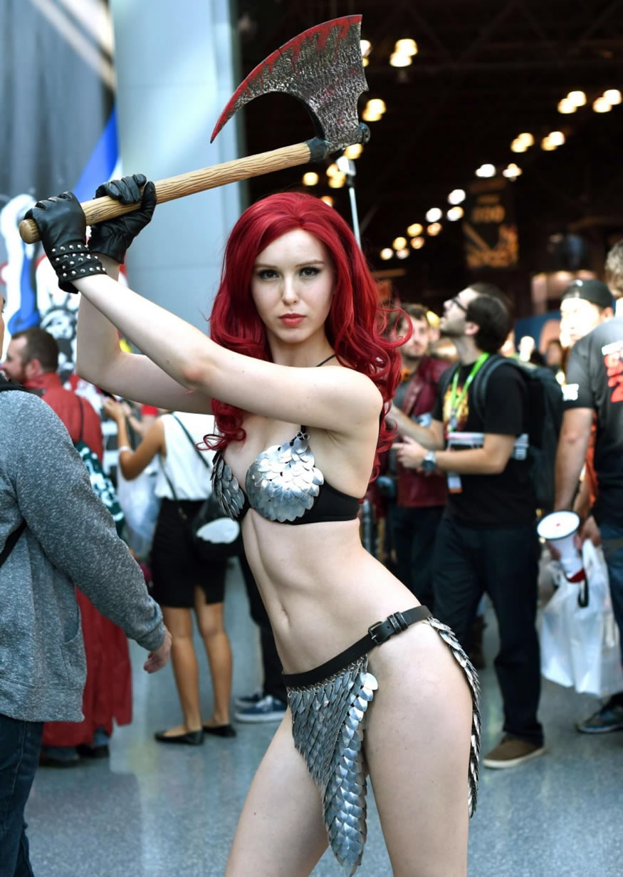 cosplay de la Comic Con
