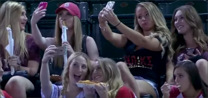Selfie masivo