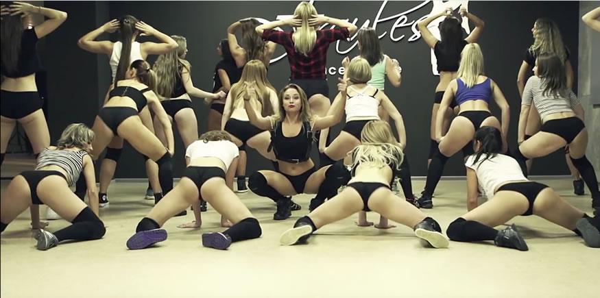La escuela de twerking ruso