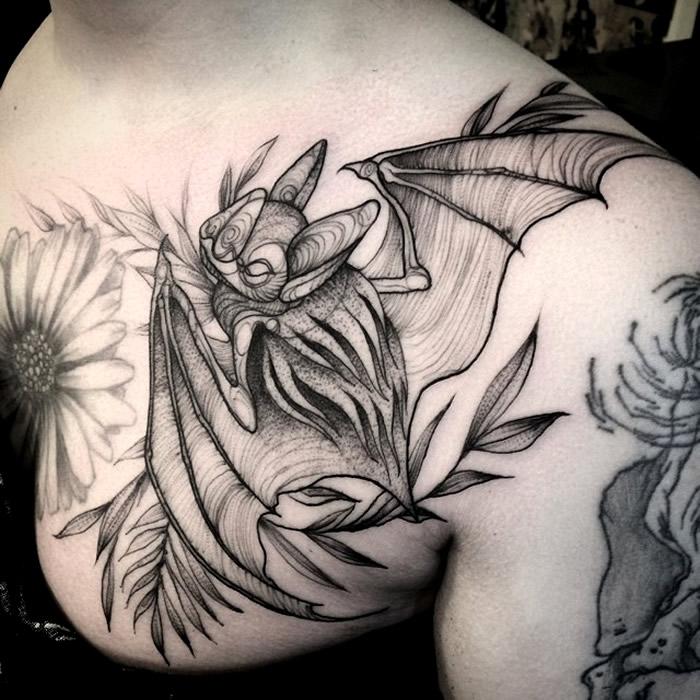bat-tattoo
