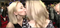 beso de Jennifer Lawrence