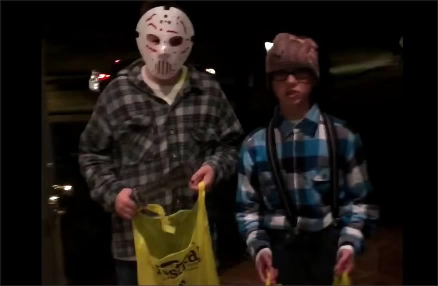 Regalos aleatorios en Halloween