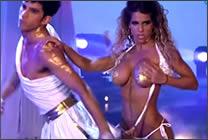 Striptease en el Mira Quien Baila