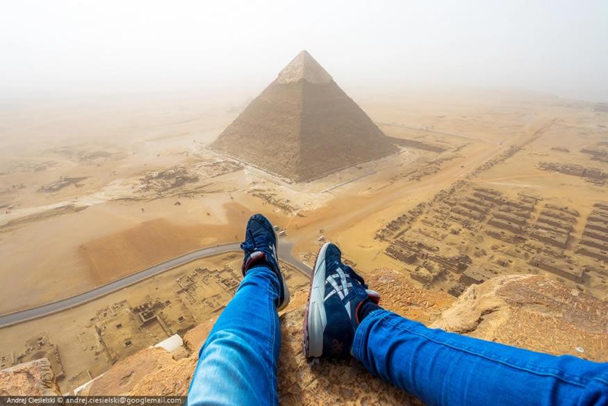 Escala la pirámide