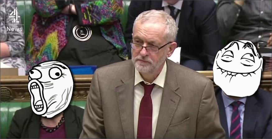 Troll en el parlamento