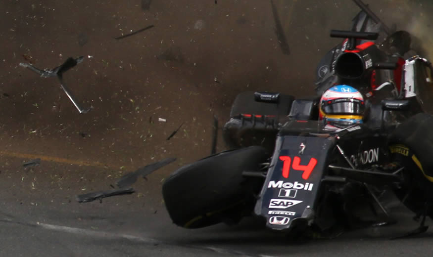 accidente-alonso-australia-crash