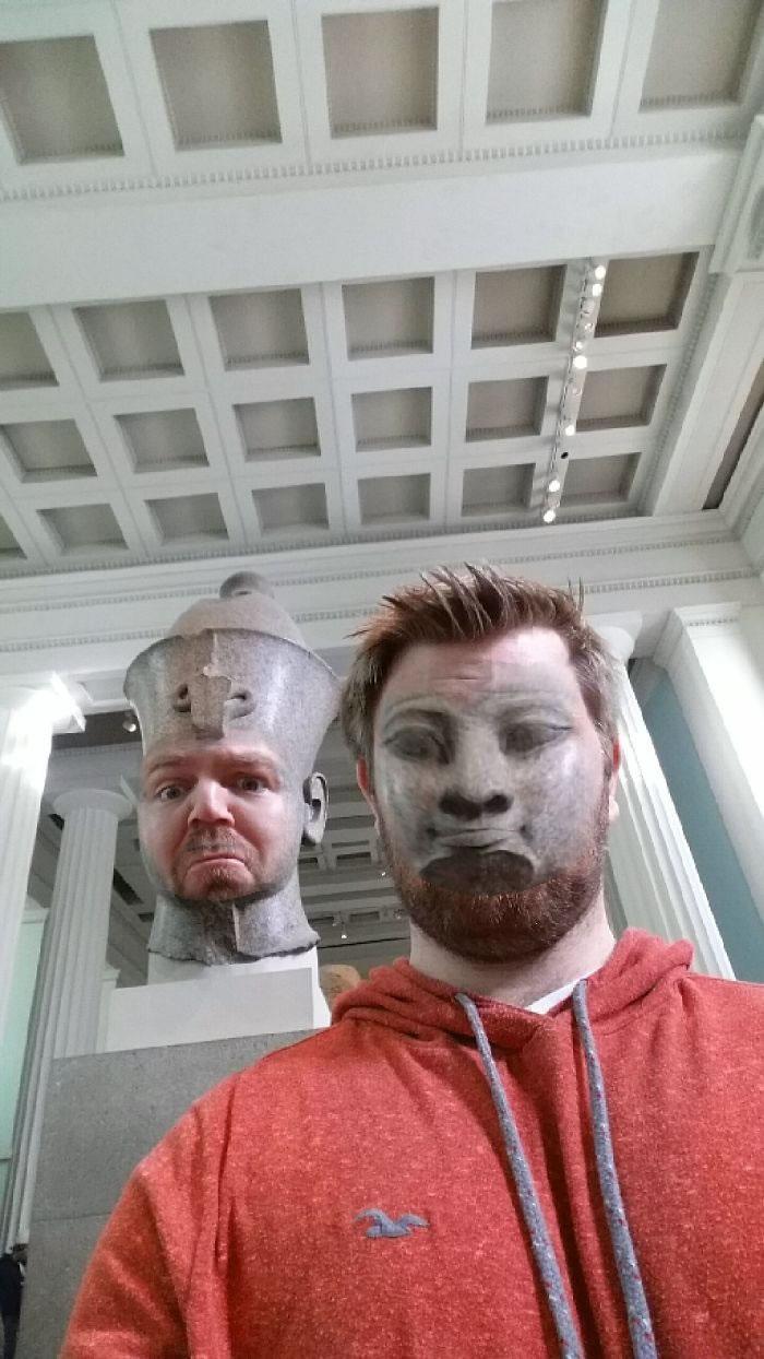 Face Swap en el museo