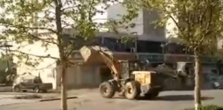pelea-excavadora