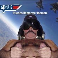 El piloto malote de top gun