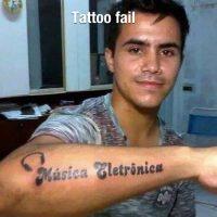 Mira mi nuevo Tattoo… FAIL!