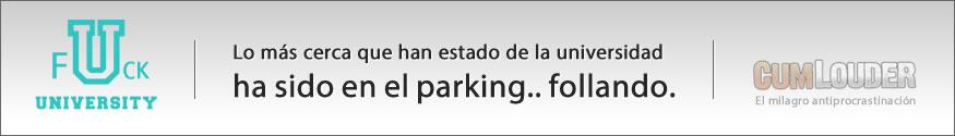 Follando en el parking
