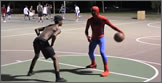 spiderman basket