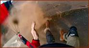caída salto base