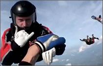 paracaidista queda inconsciente