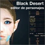 editor de personajes de Black Desert