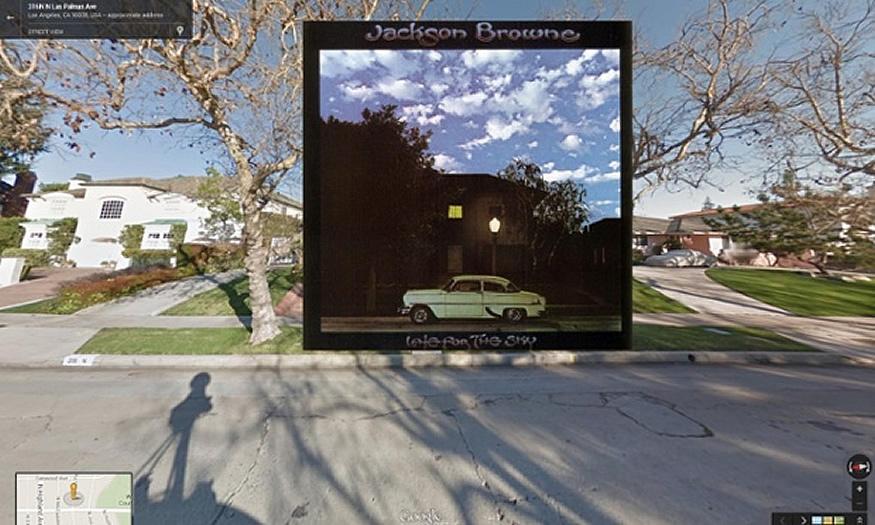 Portadas de discos en Google Street