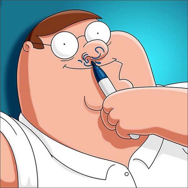 peter griffin instagram