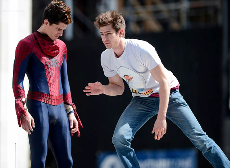 doble de spiderman