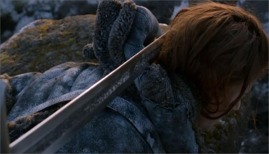 espada de  jon nieve