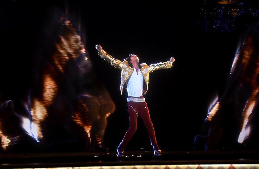 Holograma Michael Jackson