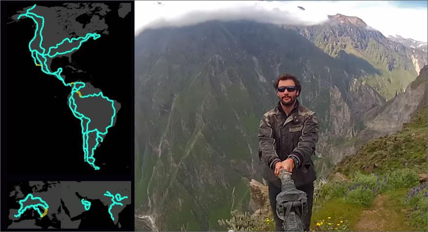 viaje alrededor del mundo