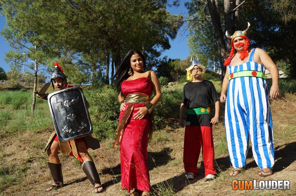 pócima mágica de Asterix