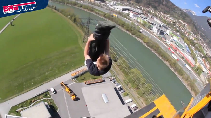 salto a pelo desdee 55 metros