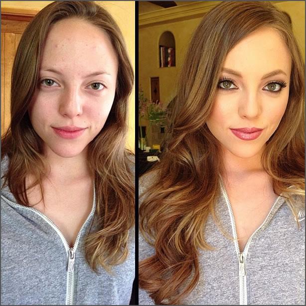 maquillajes de Melissa