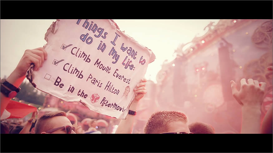 Aftermovie oficial de tomorrowland