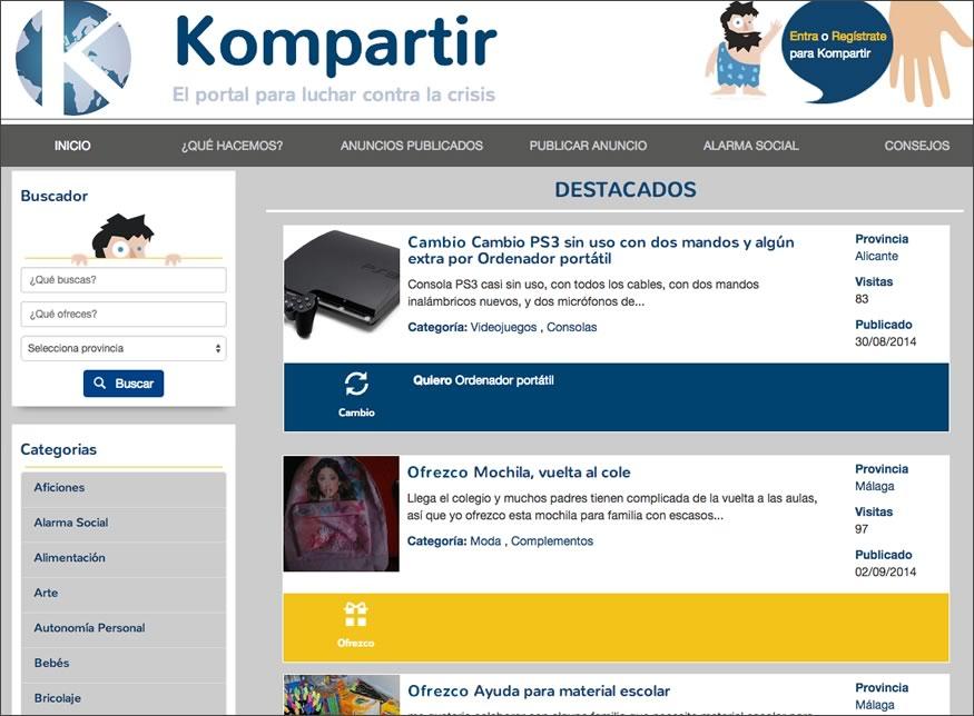 kompartir-web
