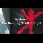 Señal de tráfico bailarina