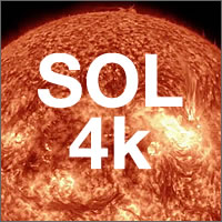 El sol en 4K