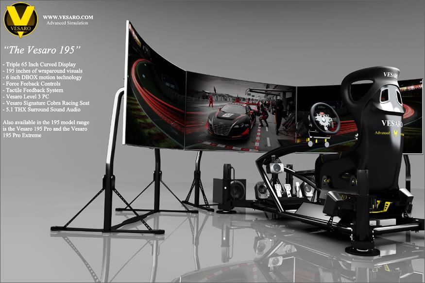 Simulador de conducción Vesaro