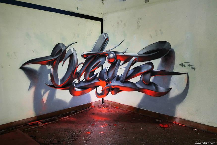 grafitis anamórficos