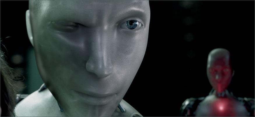 robots en la fábrica