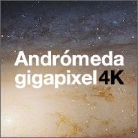 Foto gigapixel de Andrómeda
