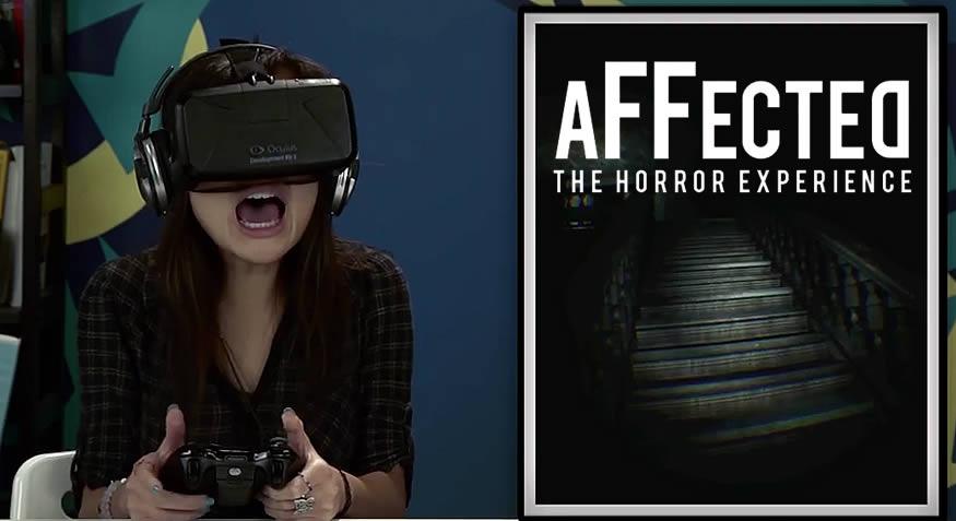 Juego de miedo en Oculus Rift