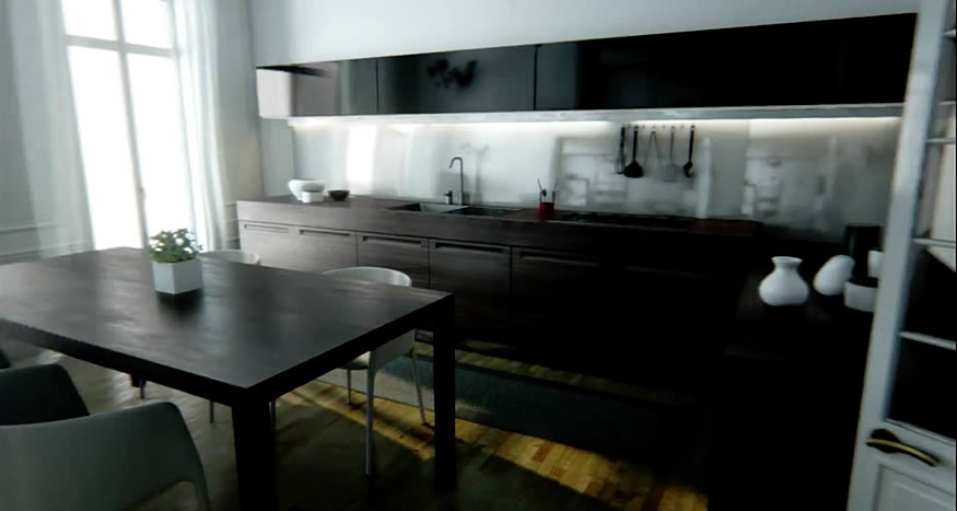 Una casa hecha con Unreal Engine 4