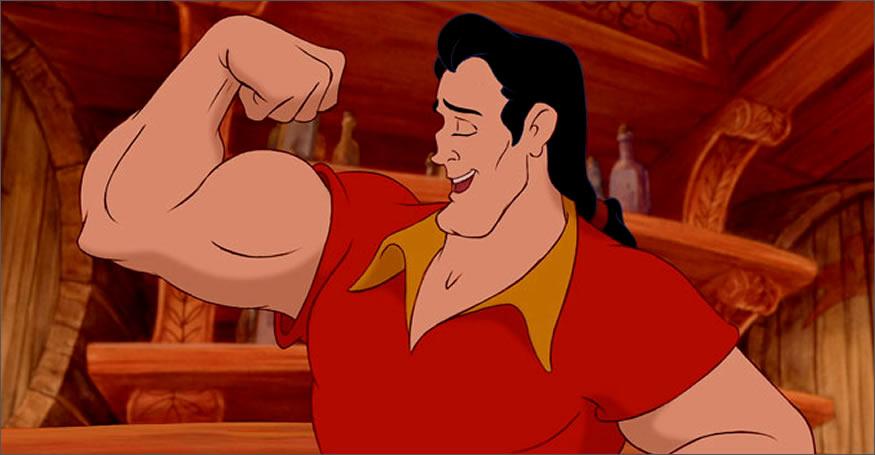 Retando a flexiones a Gaston