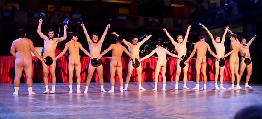 Coreografía desnudos