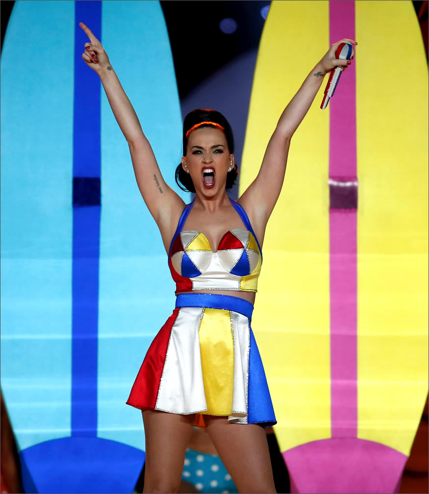 Katy Perry en la Super Bowl