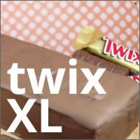 Chocolatina Twix tamaño familiar