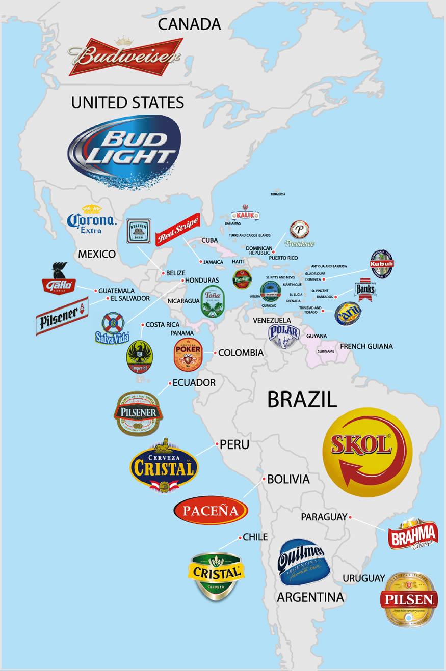 cervezas más populares