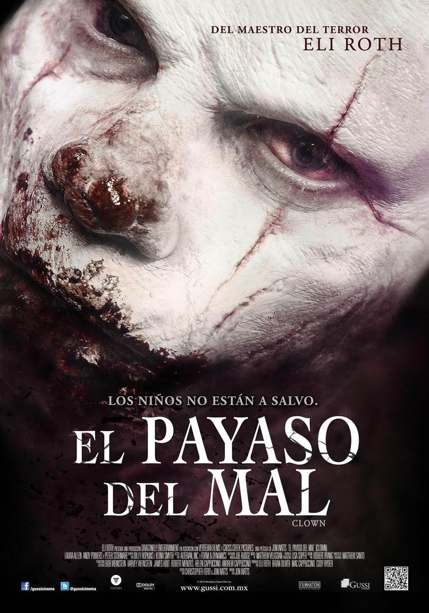 Poster oficial de Clown de Eli Roth
