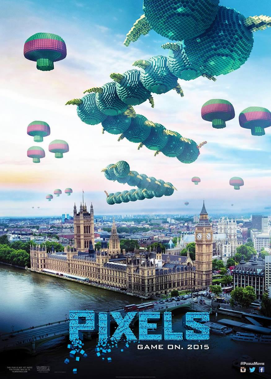 trailer de pixels
