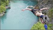 Puenting extremo en Nueva Zelanda